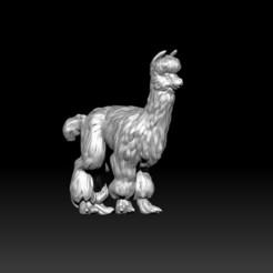 3.jpg Download free OBJ file Friendly Alpaca • Object to 3D print, D3DCreative