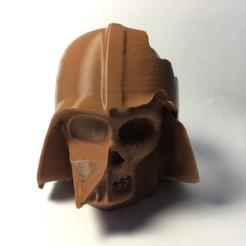 Download 3D printer designs Darth Vader Skull - Deathvader, D3DCreative