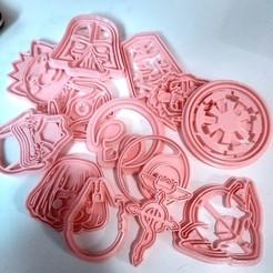 Descargar modelos 3D Cookie cutter, Cortador de galletas Halcón milenario, Star wars, vaniatapia