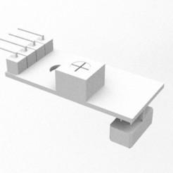 sensor.jpg Télécharger fichier STL gratuit Capteur de suivi de ligne • Design pour imprimante 3D, vaniatapia