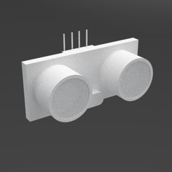 ULTRASONICO1.jpg Télécharger fichier STL gratuit Capteur à ultrasons / Capteur à ultrasons • Modèle à imprimer en 3D, vaniatapia