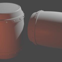 Download 3D model miniature barrel, jorgemunozreinoso2001
