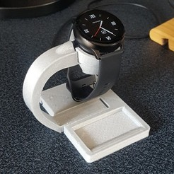 Download STL files Stand for smartwatch charger, aleXall