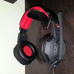 20170130_145107.jpg Download free STL file Wall mount headphones - Supporto da parete per cuffie • 3D printer design, aleXall