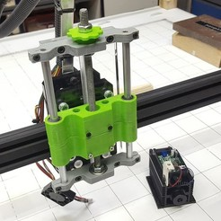 52696080_955291054861115_3342575477981184_n.jpg Download STL file Elekslaser Z-axis upgrade • 3D print object, aleXall