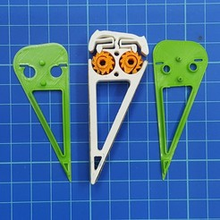 20201123_152039.jpg Download STL file Sanding stick with ratchet lock • Template to 3D print, aleXall