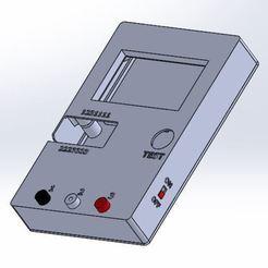 Descargar archivo 3D gratis Maletín de pruebas de componentes con el módulo HW-308 LCR-T4, aleXall