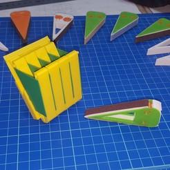 20201123_093311.jpg Télécharger fichier STL Etui modulaire pour bâton de ponçage • Design pour impression 3D, aleXall