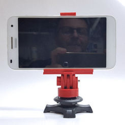 20170329_151622.jpg Download STL file Universal phone tripod mount • 3D printable design, aleXall