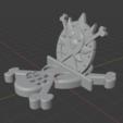 Screenshot_1605.png Download OBJ file One Piece Cellphone Stand • 3D print model, kaleidoscopioverobravo