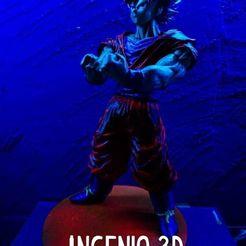 79272073_2673431429439655_7175203232627556352_o (1).jpg Download OBJ file Goku SS Stand controller • 3D printer design, kaleidoscopioverobravo
