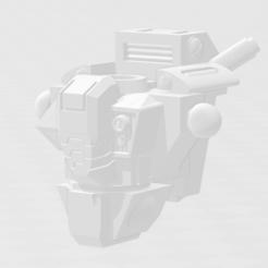 Télécharger fichier imprimante 3D gratuit Combinaison de combat urbaine communiste de l'espace Proxy Torso, daftpirate15