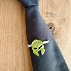 TieClip.jpg Télécharger fichier STL gratuit Set de pinces à cravate Armure de la droiture • Modèle pour impression 3D, 3dprimary