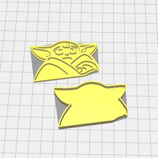 Télécharger fichier 3D gratuit L'emporte-pièce de bébé Yoda, 3dZ