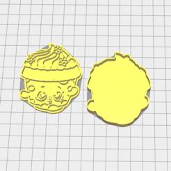 Download STL file Cookie Cutter Shopkins • Model to 3D print, 3dZ
