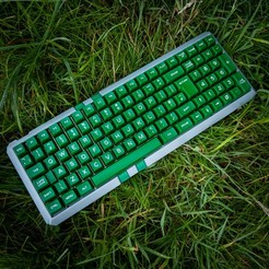 "DSCF0931.jpg Download STL file 96% Mechanical Keyboard Case (Melody96/YMDK96) Codename: ""Hope Lost (Sincerity or Rejection)"" • 3D printer design, HughMann"