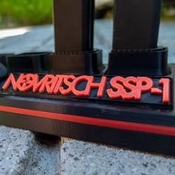 Télécharger fichier STL Novritsch SSP-1 Airsoft Pistol Display Stand • Design à imprimer en 3D, HughMann