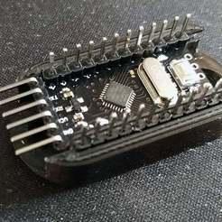 Download free 3D printing files Arduino Pro Mini Bracket/Mount, HughMann