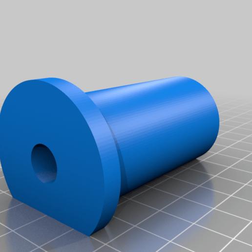 2kg_spool_Part_B.png Download free STL file Technology Outlet 2kg Spool Mount • 3D printable template, HughMann