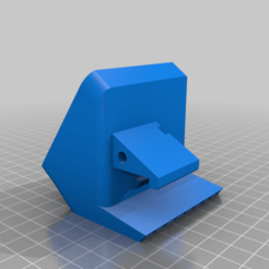 FCP_Fan_Mount_Remix.png Download free STL file Flashforge Creator Pro 60mm part cooling fan mount • 3D printing template, HughMann