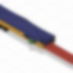 """case_top.stl Télécharger fichier STL gratuit OTF Knife Switch Blade (Fonctionnel) version """"améliorée"""" v1.2 • Modèle imprimable en 3D, mathiaspl20"""