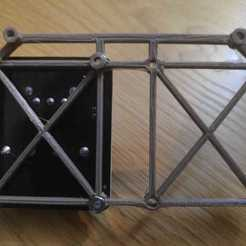 Download free 3D printing designs Soporte Anet A8 mosfet doble, juanframd