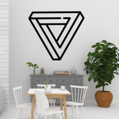 Impossible Triangle Mockup.png Download free STL file Impossible Triangle • 3D printer model, R3DI