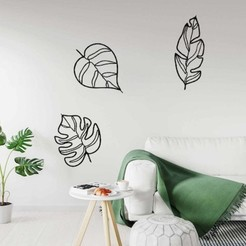 LEAVES ART MOCKUP.jpg Télécharger fichier STL QUITTE L'ART • Design imprimable en 3D, R3DI
