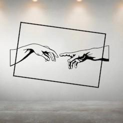 ADAN'S CREATION ART MOCKUP.jpg Télécharger fichier STL L'ART DE LA CRÉATION D'ADAN • Plan à imprimer en 3D, R3DI