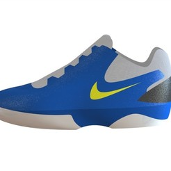 imagen zapato deportivo en sw.JPG Download STL file Nike Sport Shoe • 3D print template, linares0205