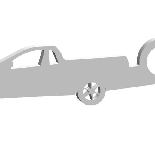 Download 3D-printmodellen Chevrolet montana sleutelhanger, linares0205