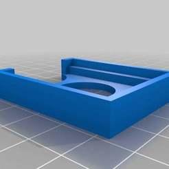Imprimir en 3D gratis 1,2 en el soporte de mochila de I2C, zcsaale