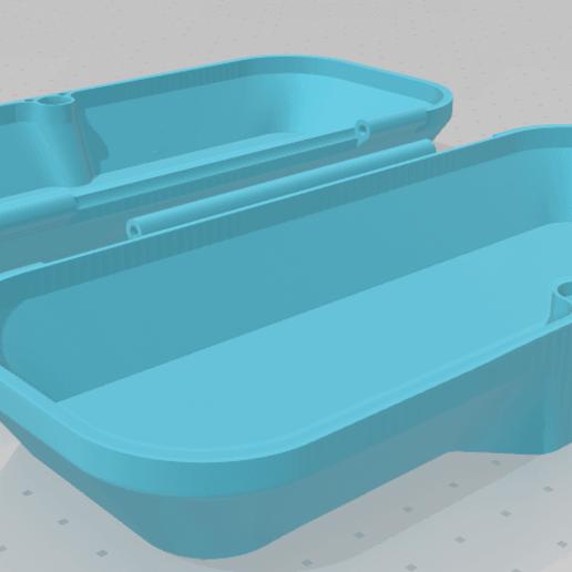 vTPp.png Télécharger fichier STL gratuit MagneticBox (pour les lunettes) • Modèle pour impression 3D, FotrLuk