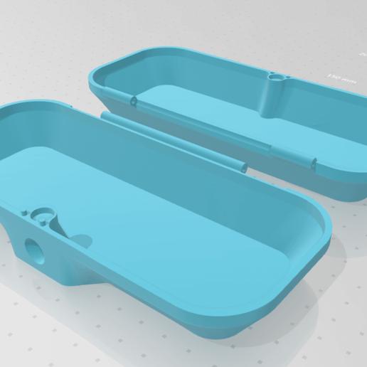 kHRD.png Télécharger fichier STL gratuit MagneticBox (pour les lunettes) • Modèle pour impression 3D, FotrLuk