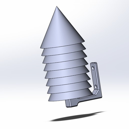 Stivenson_V2.jpg Download free STL file Stevenson screen • 3D printing object, Sergei000