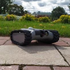 Descargar STL gratis FPV-Rover V1.31 (Tanque), Sergei000