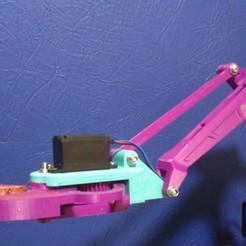 Télécharger fichier 3D gratuit Adaptateur de la pince à mante pour EEZYbotARM MK2, Sergei000