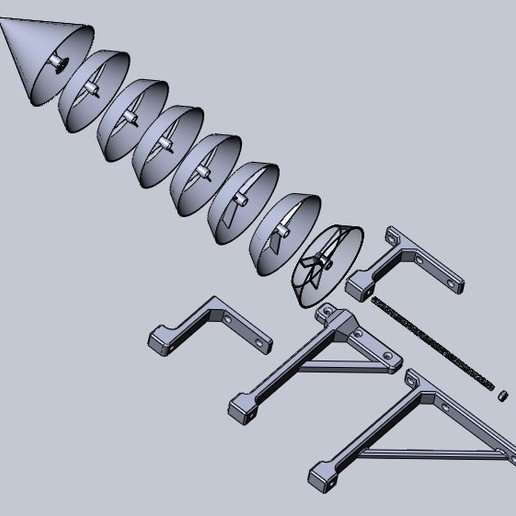 Stivenson_asmbl_all.jpg Download free STL file Stevenson screen • 3D printing object, Sergei000