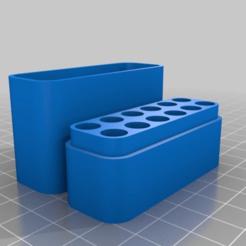 Download free 3D printing models Solder Tip Case (for 8,10,12 tips), Sergei000