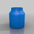 Télécharger fichier STL gratuit Bocal pour la polisseuse de 170 mm • Plan à imprimer en 3D, reakain