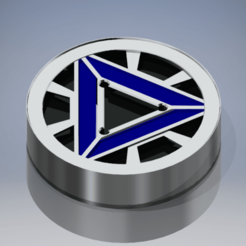 Download free STL file Mark IV Arc Reactor Shim • 3D printer model, reakain