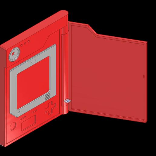 pokedexopen.png Télécharger fichier STL gratuit Pokedex • Modèle pour impression 3D, reakain
