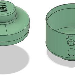 Impresiones 3D Lego Head Box - Asustado, ludovic_gauthier