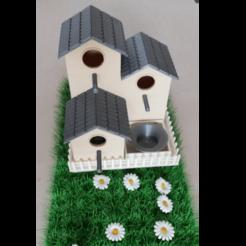 Image_6.png Download STL file BirdHouse - Nichoir à oiseau - Cabane à oiseau • 3D print object, ludovic_gauthier