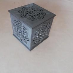 Impresiones 3D Fotóforo Mandala V1 con vela LED, ludovic_gauthier