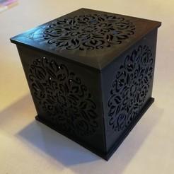Descargar modelo 3D Fotóforo Mandala V2 con vela LED, ludovic_gauthier