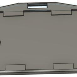 Descargar STL Titular de la placa - Titular de la tarjeta - Titular de la identificación, ludovic_gauthier