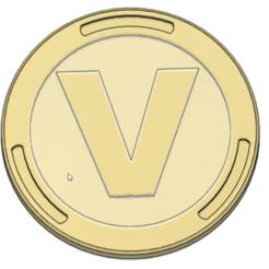 Descargar diseños 3D La moneda de VBuck Euro Fortnite, ludovic_gauthier