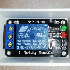 Descargar STL Caja de relés - Arduino, ludovic_gauthier