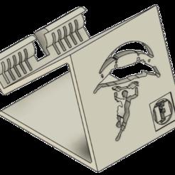Descargar archivo 3D Soporte de teléfono Soporte de teléfono Fortnite, ludovic_gauthier